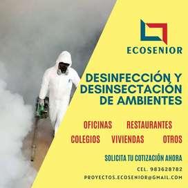 Fumigación de ambientes