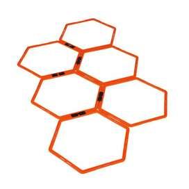 Aros hexagonales de agilidad