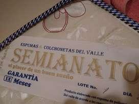Colchón semianatomico