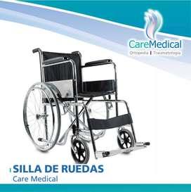 Silla de Ruedas Plegable - CM - Ortopedia Care Medical