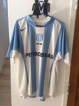 Camiseta Racing Club Nike titular 2006