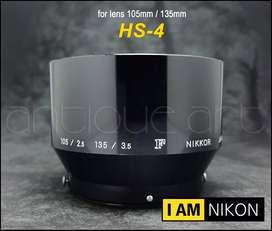 A64 Parasol Hs-4 Metal Lente Nikkor F 105mm/2.5 135mm/3.5