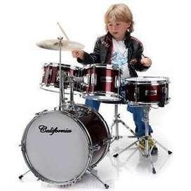 bateria acustica para niño y adulto oferton!!!