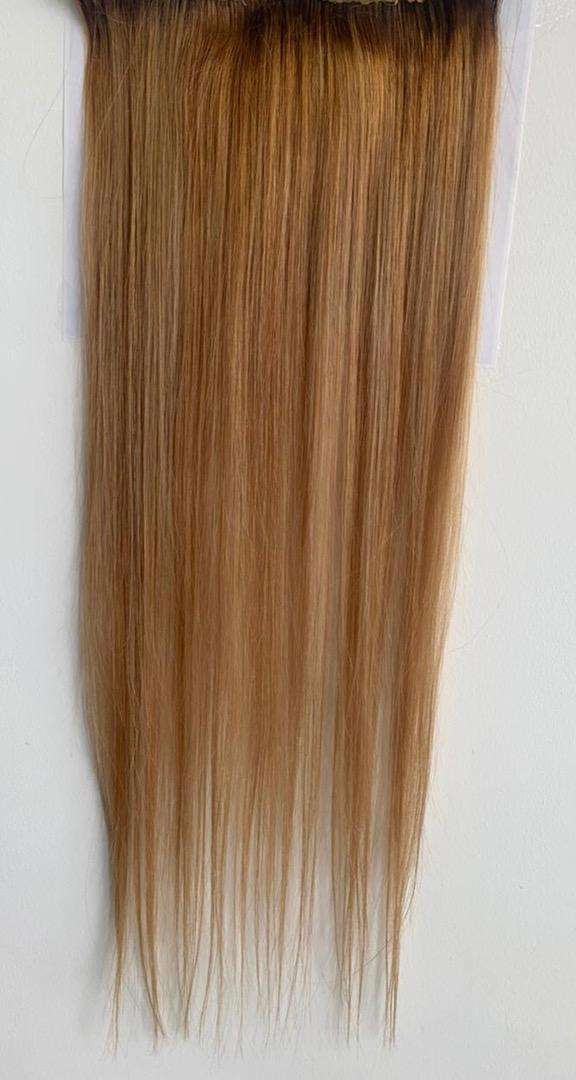 "Extensiones cabello 100% natural 25"" de largo NEGOCIABLE"