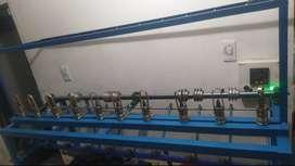 Maquina para fabricar cordón