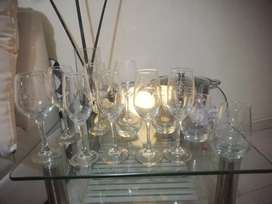 Set vasos copas