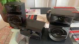 Equipo Mini PANASONIC AKX110 330 W Negro