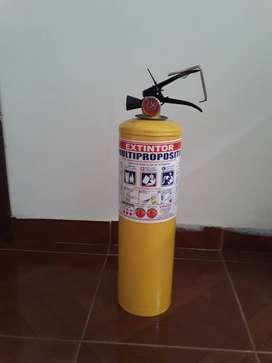 Se vende Extintor de Polvo Químico Seco tipo ABC de 10 libras nuevo