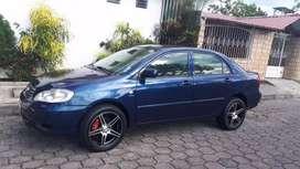 Vendo mi Toyota Corolla motor 1,6 del 2005 color azul