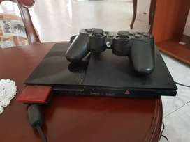 Ps2 negro en buen estado