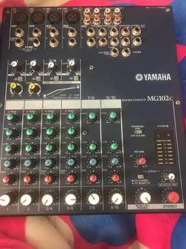Vendo consola yamaha de 10 canales