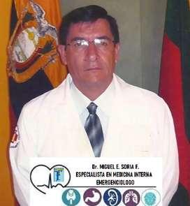 Medico especialista medicina interna