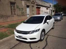 HONDA CIVIC AT LXS 3013   KM 88000   Blanco