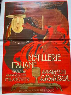 Póster Destillerie italiane