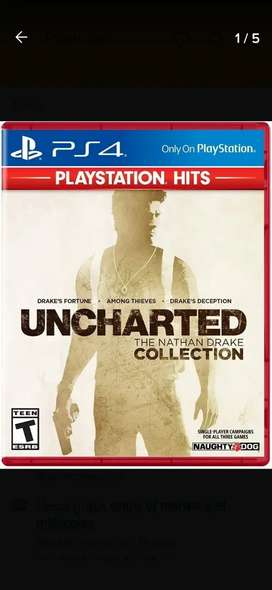 Uncharted Collection Ps4. Español.
