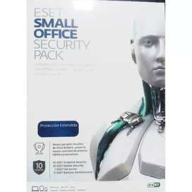 Antivirus Eset Small Office Security Pack 10 Licen 12 Meses