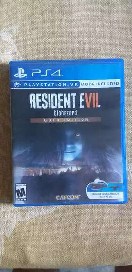 VENDO RESIDENT EVIL 7 GOLD EDITION