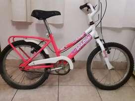 Bicicleta de niño y niña