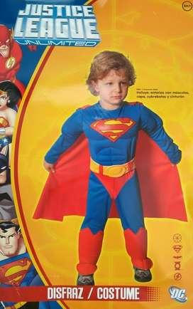 Disfraz Super Man Niño
