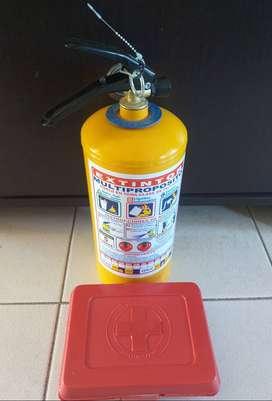 Venta de extintor 5 libras y mini kit de primeros auxilios