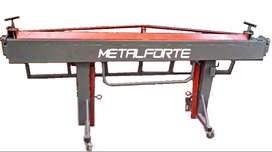 Dobladora De Chapas Manual Tipo Delantal - 2500 Mm - Metalforte