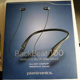 Bluetooth Audífonos Plantronics BackBeat 100.Wireless Music and Calls.
