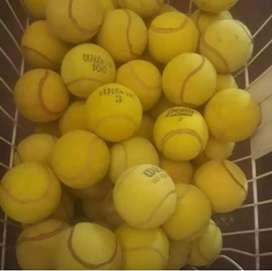 Pelotas usadas de tenis