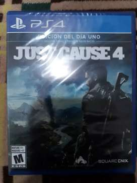 Just cause 4 sellado ps4