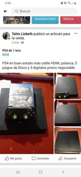 Ps4 Buen Estado