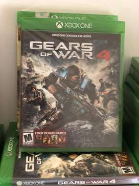 GEARS OF THE WAR 4 XBOX ONE