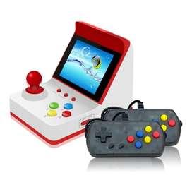 Retro Mini FC juego Arcade máquina integrada con 360 juegos clasicos de 8bit doble control y conexion al TV  360 juegos