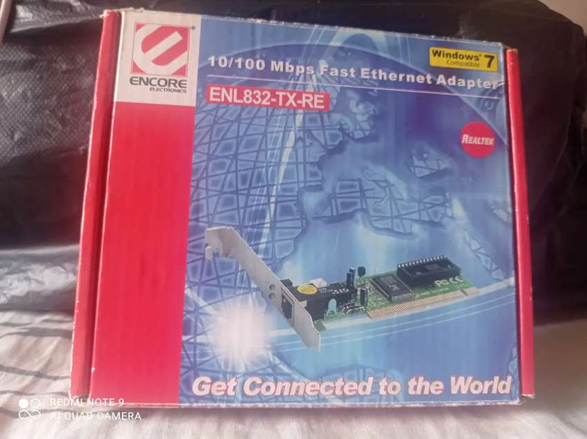 Targeta PCI Fast Ethernet internet