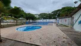 Arriendo casa en Conjunto Cerrado Brisas del Magdalena con piscina y canchas deportivas