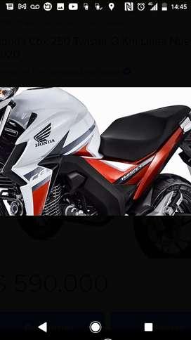 Honda new twister igual que 0km