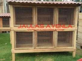 Jaula de Gallos 6 Casilleros