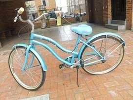 Bicicleta playera de cambios