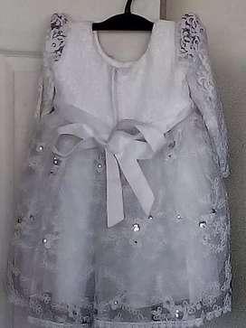 Vestido para bautizo