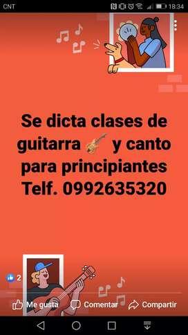 Se dicta clases de guitarra por video llamada y personal