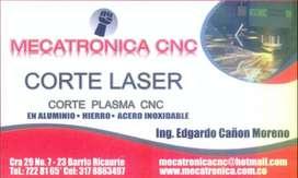 Servicio de Corte Laser de Metales