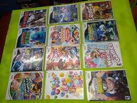 Vendo juegos de Wii en buen estado