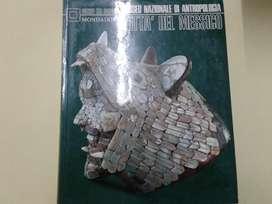 LIBRO DE ARTE MUSEO NACIONAL DE ANTROPOLOGIA MEXICO. EN ITALIANO