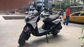 Moto como nueva motivo viaje