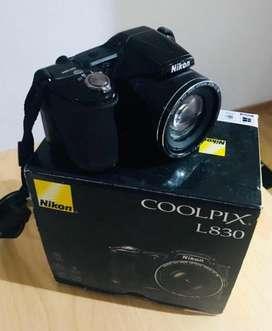 Camara Nikon L830