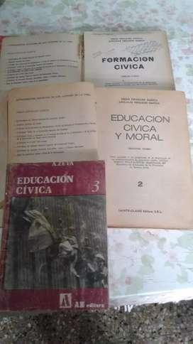 Libros formacion moral y civica