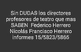 Clases de teatro en San Telmo