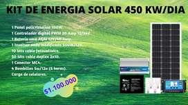Promoción de Kits Solares.