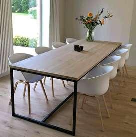 muebles fabricados en madera.