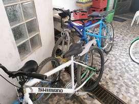 Vendo 3 bicis montañeras