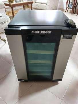 Challenger Cava De Vinos Para 16 Botellas Negro Tech Techc-5