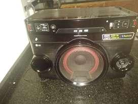 Equipo de audio  LG rms 220w